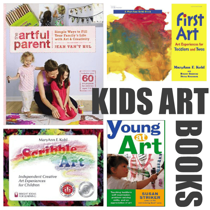 Kids Art Books