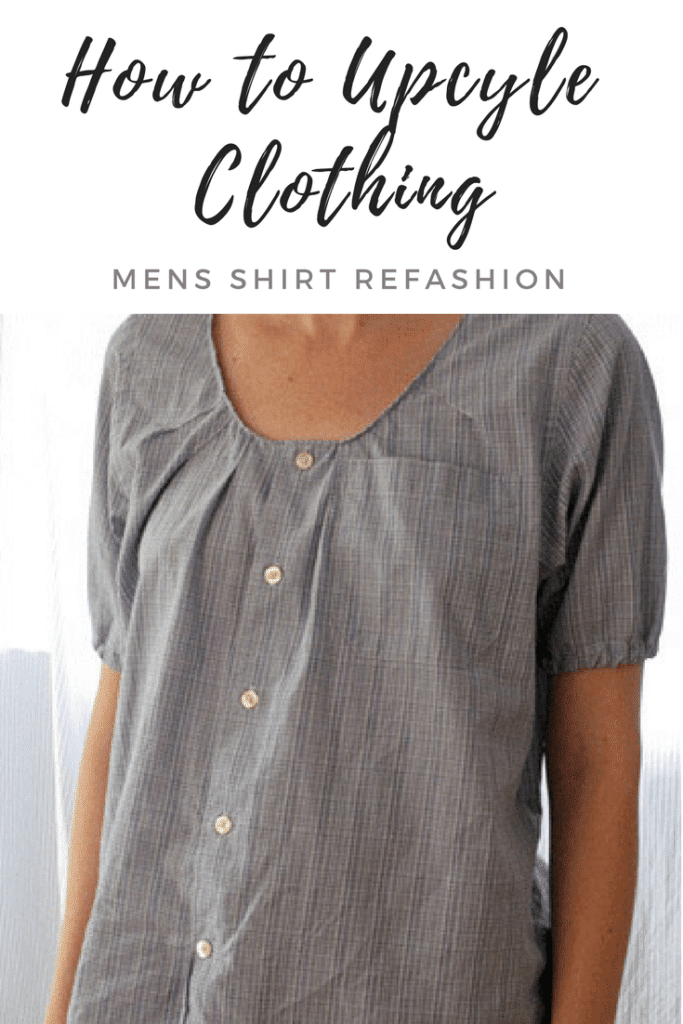 Mens Shirt Refashion
