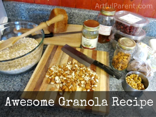 An Awesome and Healthy Granola Recipe