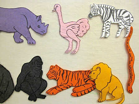 A Roundup of Our Best Felt Board Ideas & How To Make Them – felt animals
