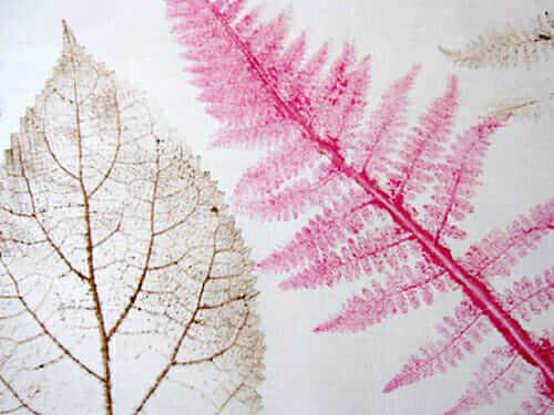 Leaf Printing on Fabric – How To Make Wearable Art And More!