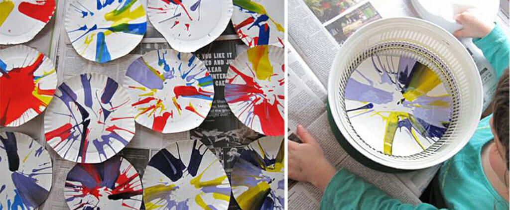 Spin Art For Kids is a Mesmerizing and Fun Action Art Activity