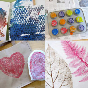 Printmaking for Kids (A Round-Up of Ideas)