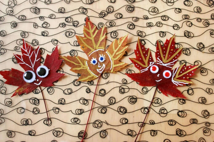 Leaf Peepers Fall Craft for Kids (9)