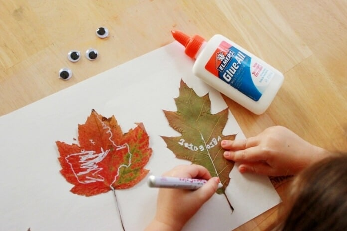 Leaf Peepers Fall Craft for Kids (17)