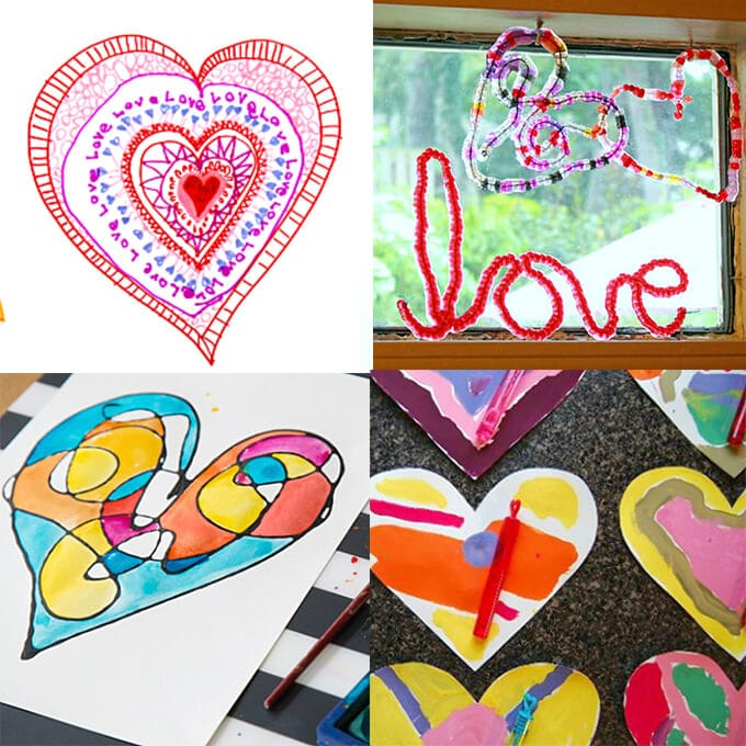 19 Valentines Day arts and crafts