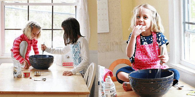 Cooking with Kids – Raddish Cooking Kits and Sew Liberated Apron