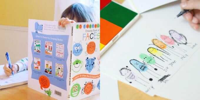 Creative Drawing Ideas for Kids - How to Draw Books