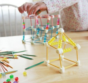 Toothpick Sculptures for Kids :: 13 Fun Toothpick Construction Ideas!
