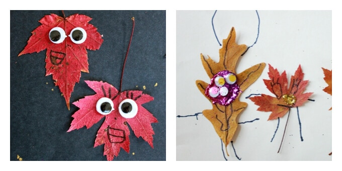 Bring Fall's Beauty Indoors With These 10 Autumn Leaf Crafts for Kids - leaf peepers