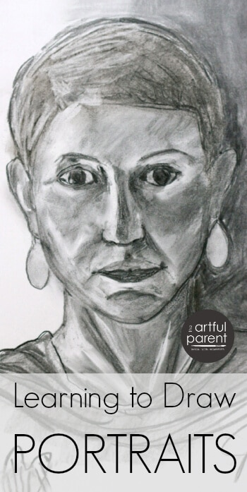 Learning How to Draw Portraits with an Online Drawing Class