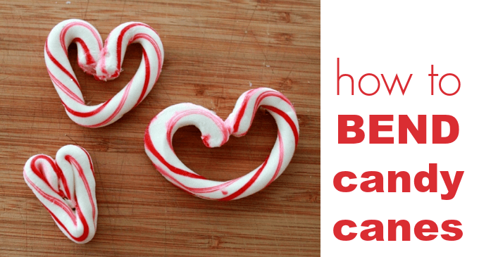 How to Bend Candy Canes