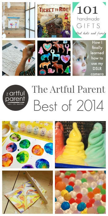 The Artful Parent Best of 2014 - Top 10 Posts of the Year