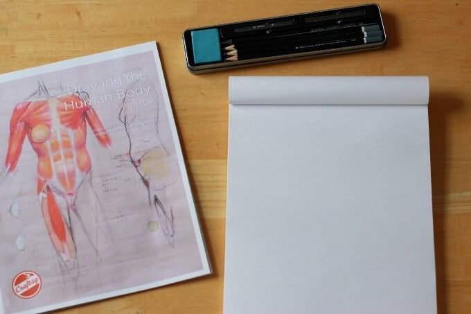 Drawing the Human Body e-Guide by Craftsy