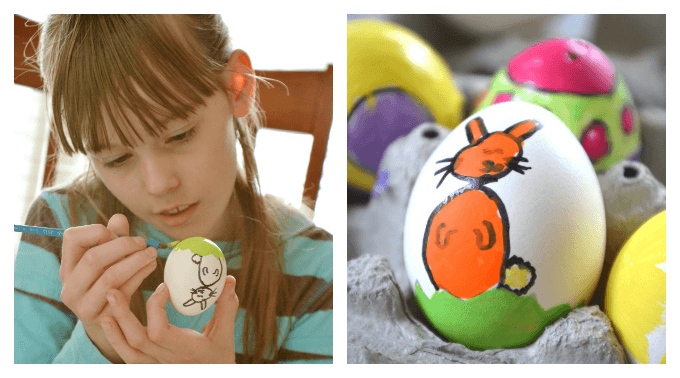 Make Stained Glass Easter Eggs