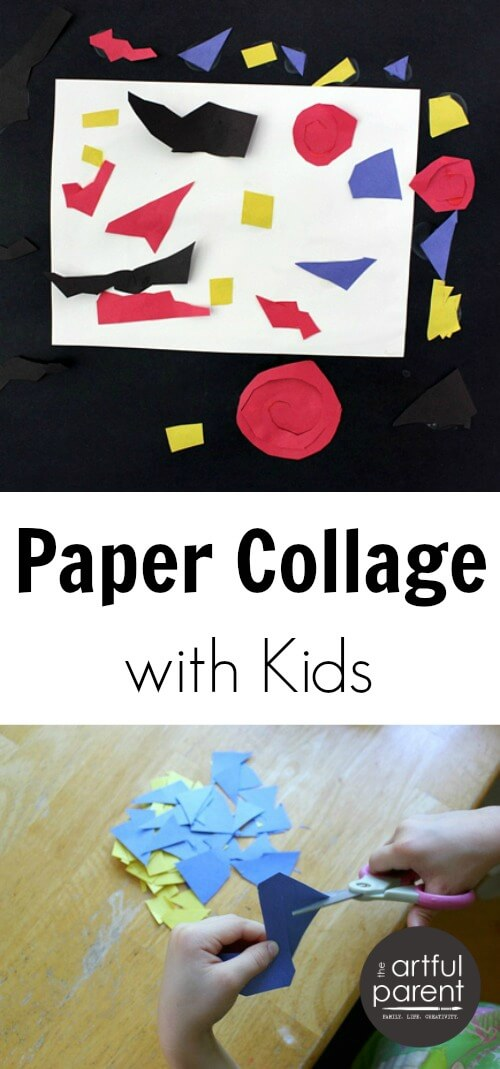 Paper Collage with Kids