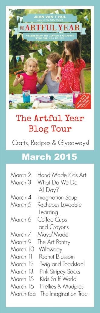 The Artful Year Blog Tour March 2015