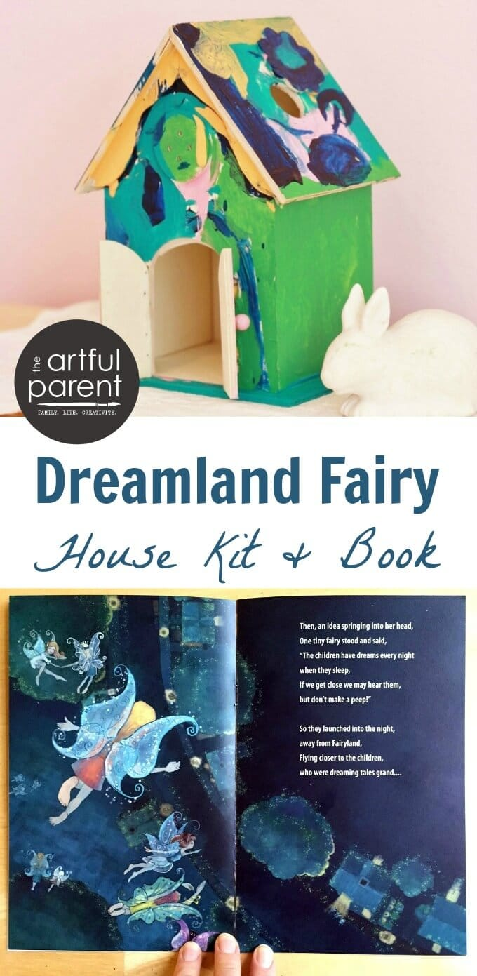 Dreamland Fairy House Kit and Book