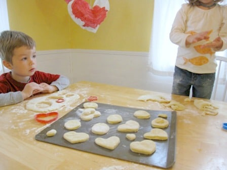 Making Baked Doughnuts with Kids