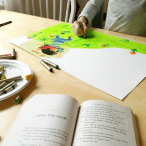 Why Read Aloud Time is Drawing Time for Kids