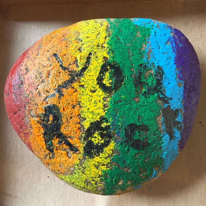 You Rock Paperweight Gift