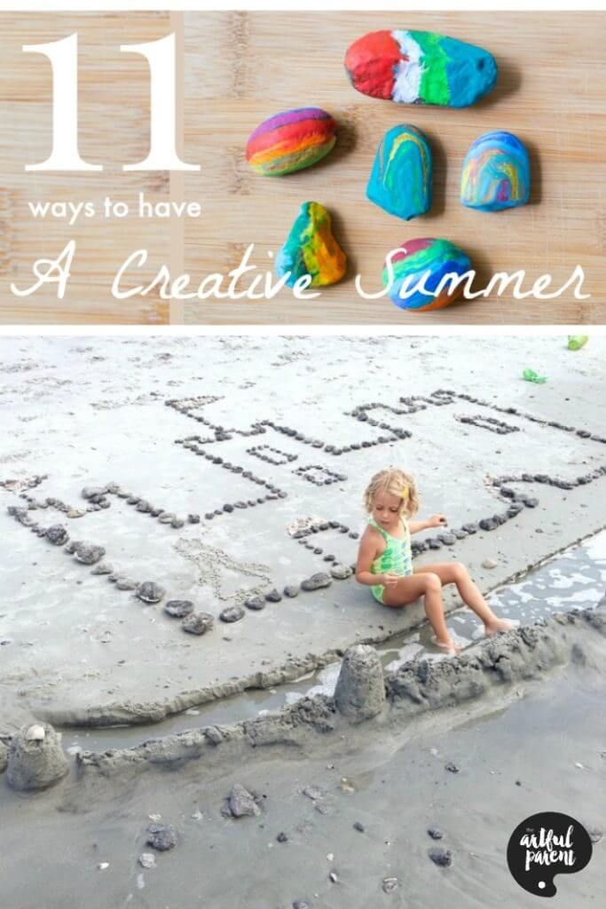 11 Ways to Have a Creative Summer with Kids