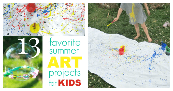 Favorite Summer Art Projects for Kids