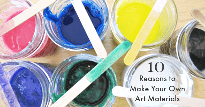 10 Reasons to Make Your Own Art Materials