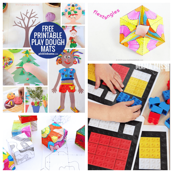 Printables for 3D Art Activities
