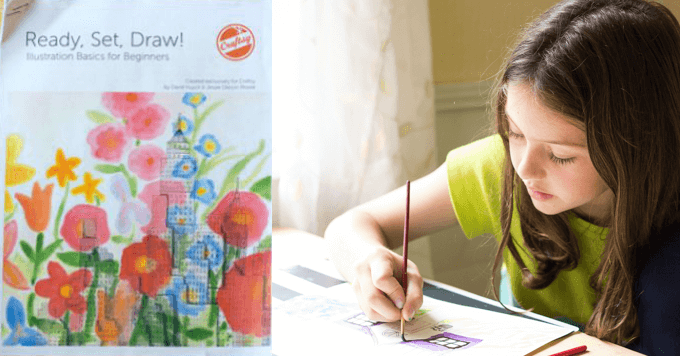 Ready, Set, Draw with a Free Printable Drawing Guide on Illustration Basics