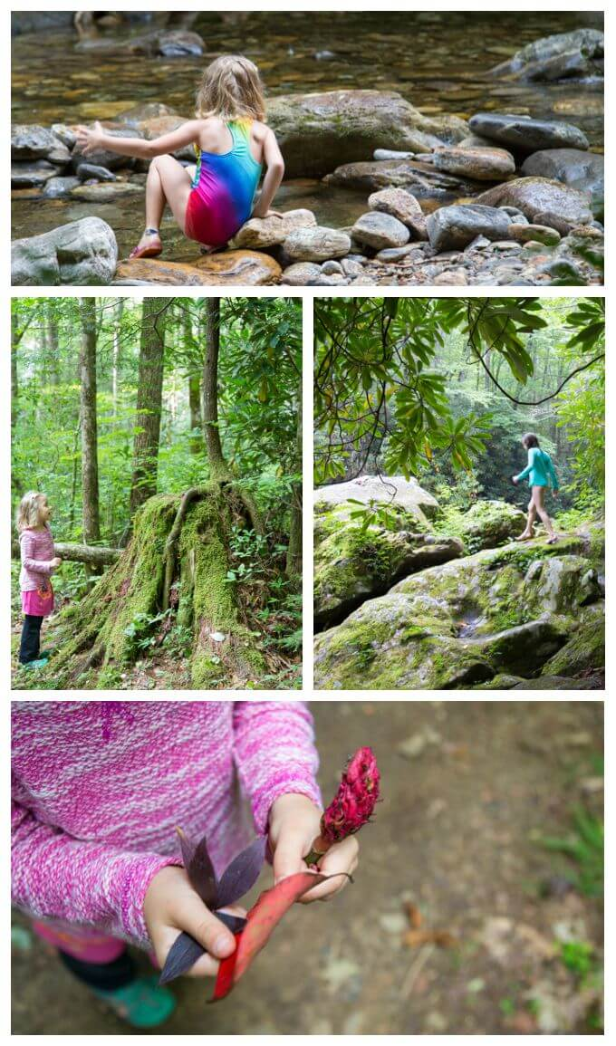 Camping and Hiking with Kids at Cataloochee