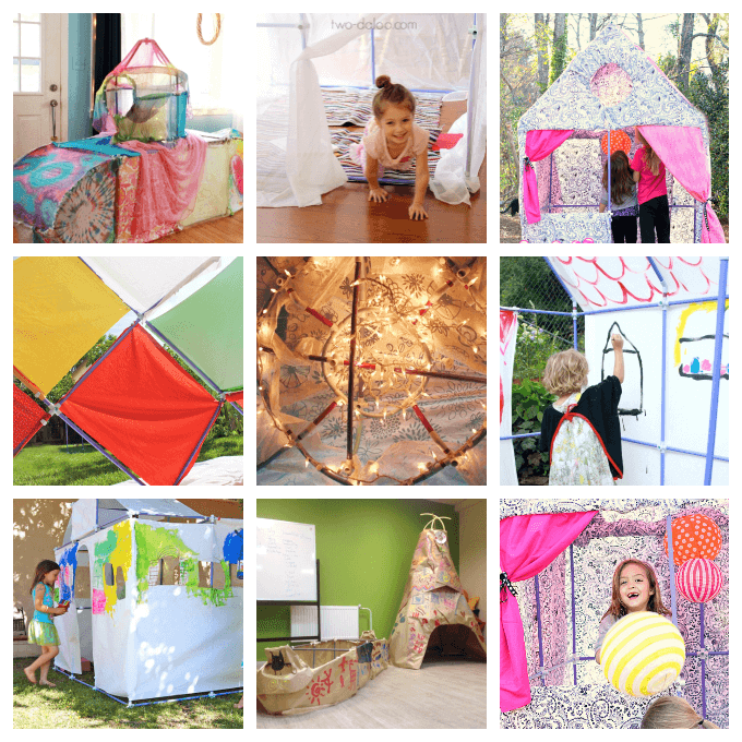 Ways to Cover and Embellish Fort Magic Forts