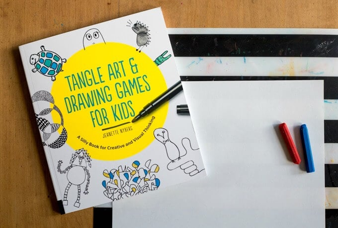 Tangle Art and Drawing Games for Kids
