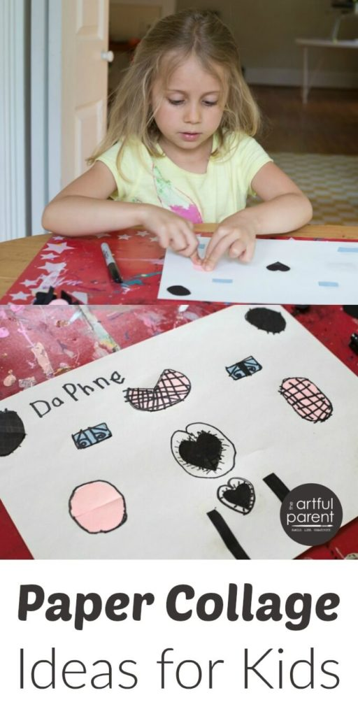 9 fun paper collage ideas for kids -- simple art materials plus engaging techniques!