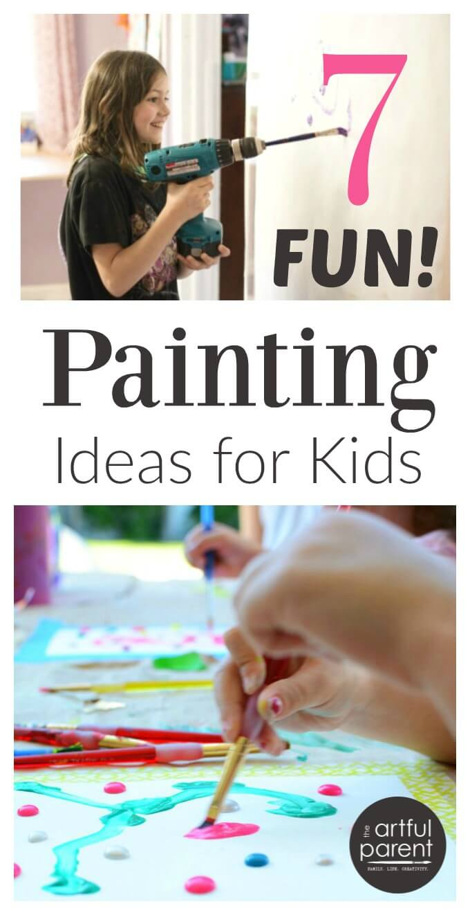 7 Fun Painting Ideas for Kids to Try
