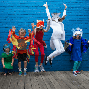A Costume Making Party for Kids