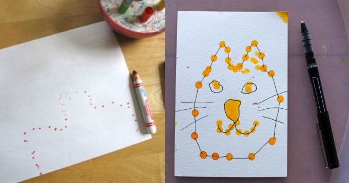 DIY Dot to Dots for Kids