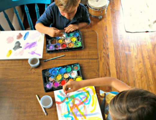 Music Activity for Kids - Use Music as an Art Prompt
