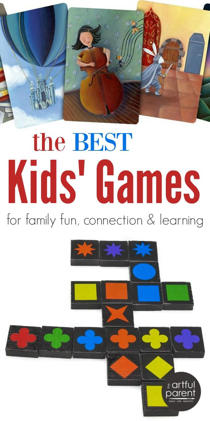 The Best Kids Games for Family Fun Connection & Learning