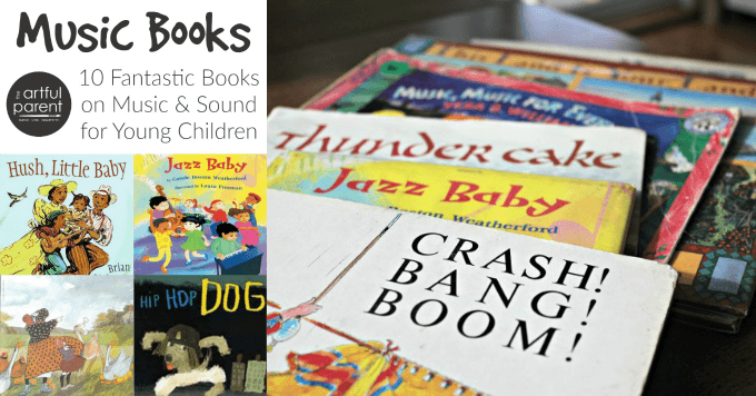 Music Books for Kids - 10 Fantastic Books About Music and Sound for Young Children