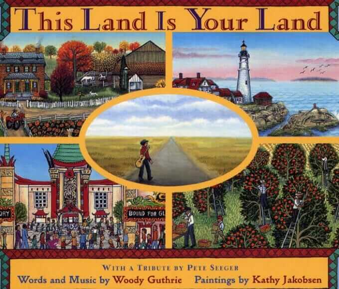 Music Books for Kids - This Land is Your Land