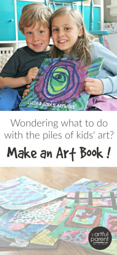 How to Make a Kids Art Book with PlumPrint