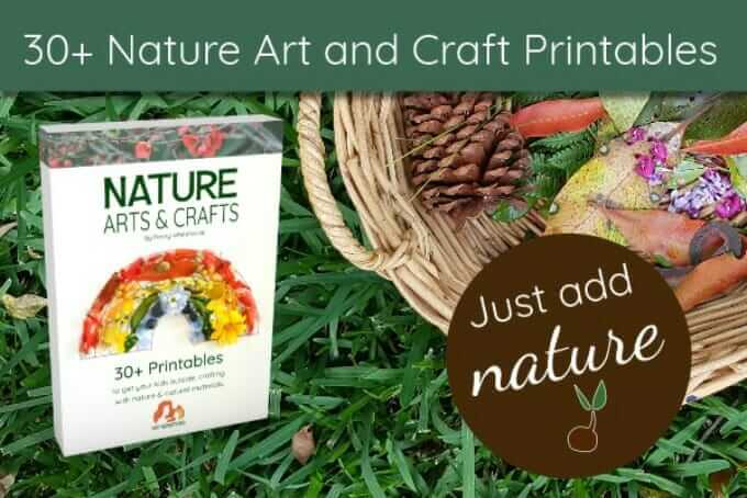 Nature Arts and Crafts Printables