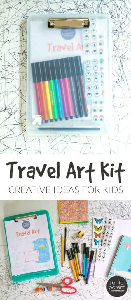 Travel Art Kit for Kids