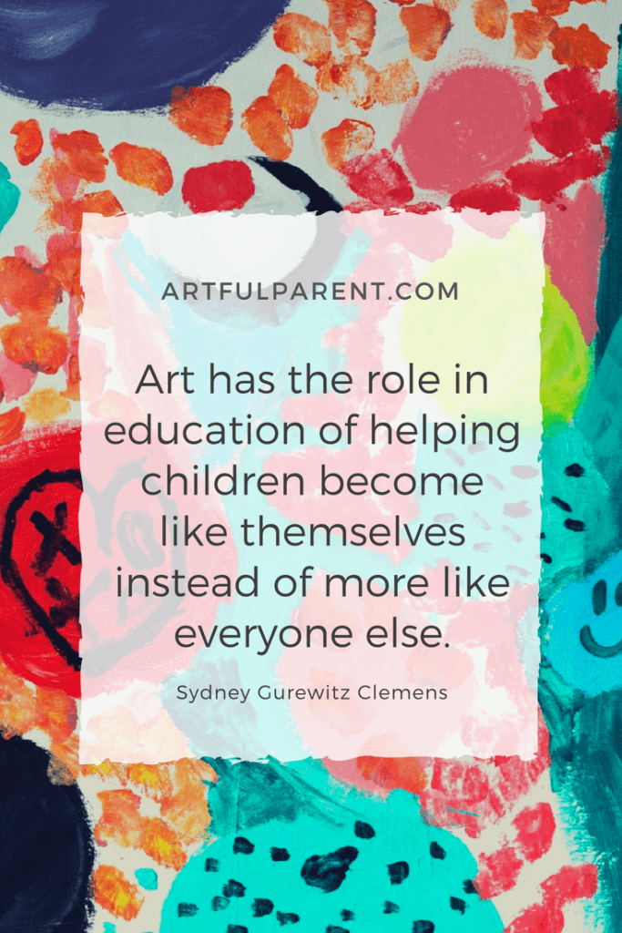 Kids Art and Creativity Quote