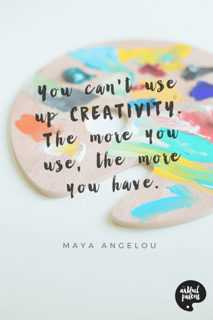 Creativity Quote by Maya Angelou
