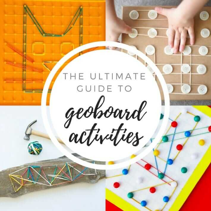 The Ultimate Guide to Geoboard Activities