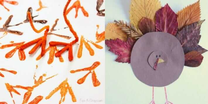 Thanksgiving Activities for Kids - Turkey Arts and Crafts