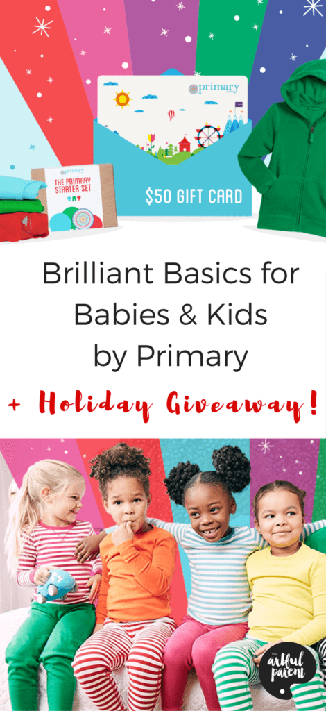 Brilliant Basics For Babies & Kids by Primary (+ Holiday Giveaway)