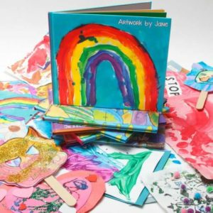 Kids Art Books by Plum Print